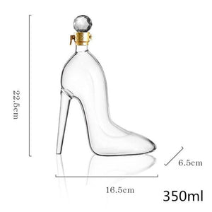 High Heels Glaskaraffe - AlphaDeals24
