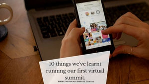 10 things we've learnt running our first virtual summit.