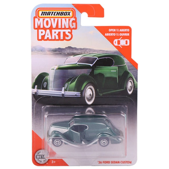 2020 Matchbox 1:64 Car 36 FORD SEDAN CUSTOM  Collective Edition Metal Diecast Car Alloy Model Car Kids Toys Gift