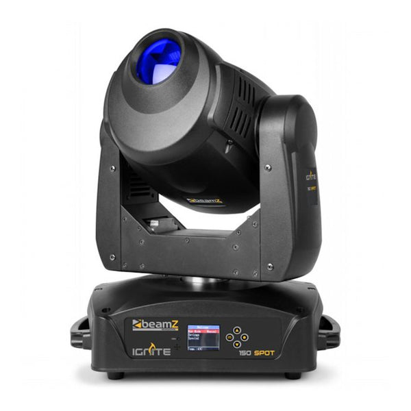 TV Audio Factory Shop - Beamz IGNITE150 LED MOVING HEAD SPOT 150W