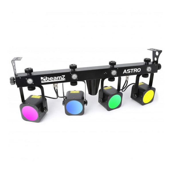 TV Audio Factory Shop - Beamz LED ASTRO PARBAR 4-WAY KIT