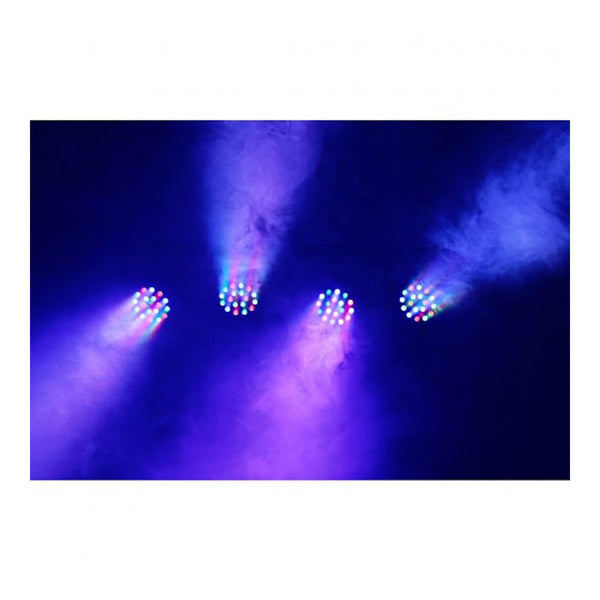 TV Audio Factory Shop - Beamz LED PARBAR 4-WAY KIT 18X 1W RGB DMX