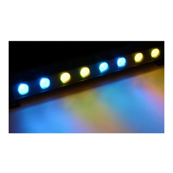 TV Audio Factory Shop - Beamz LCB-24 LED COLOUR UNIT 8X3W TRI DMX