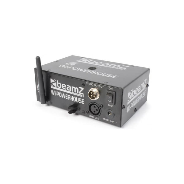 TV Audio Factory Shop - Beamz WI-POWERHOUSE 2.4GHZ BATT DMX