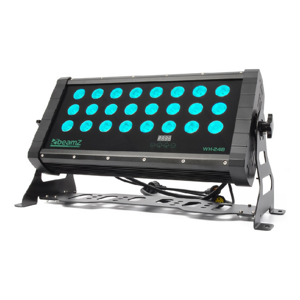 TV Audio Factory Shop - Beamz WH248 LED WASH 24X8W QUAD LEDS DMX