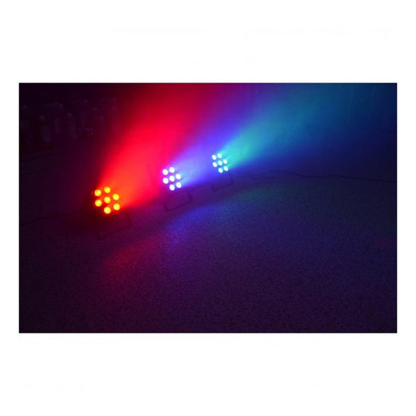 TV Audio Factory Shop - BeamzLED PAR 56 FLATPAR 7x 15W RGBWA LEDs DMX IR