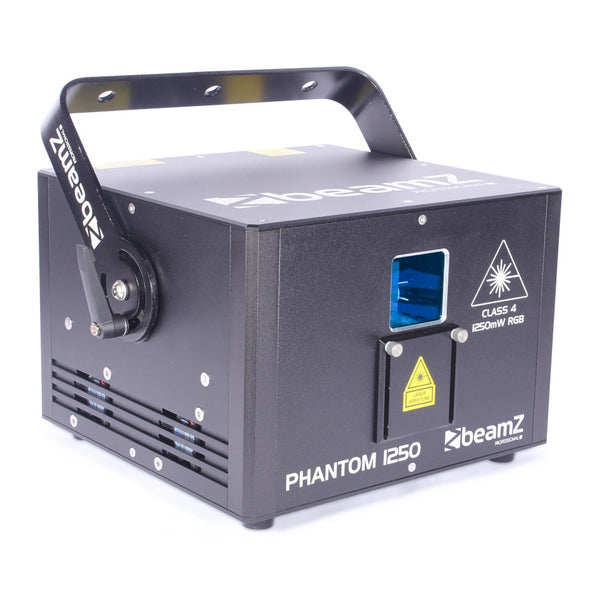 TV Audio Factory Shop - Beamz PHANTOM 1250 PURE DIODE LASER RGB