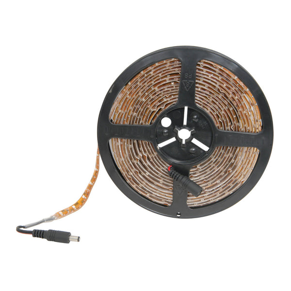 TV Audio Factory Shop-LOW PROFILE SINGLE COLOUR LED TAPE 5M REEL YELLOW