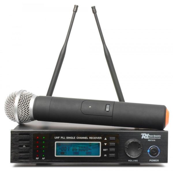 TV Audio Factory Shop - Power Dynamics PD731H 16-CH HANDHELD UHF WIRELESS MIC