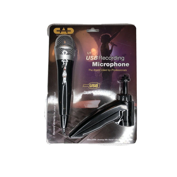 TV Audio Factory Shop-CAD U1 USB Hand Mic