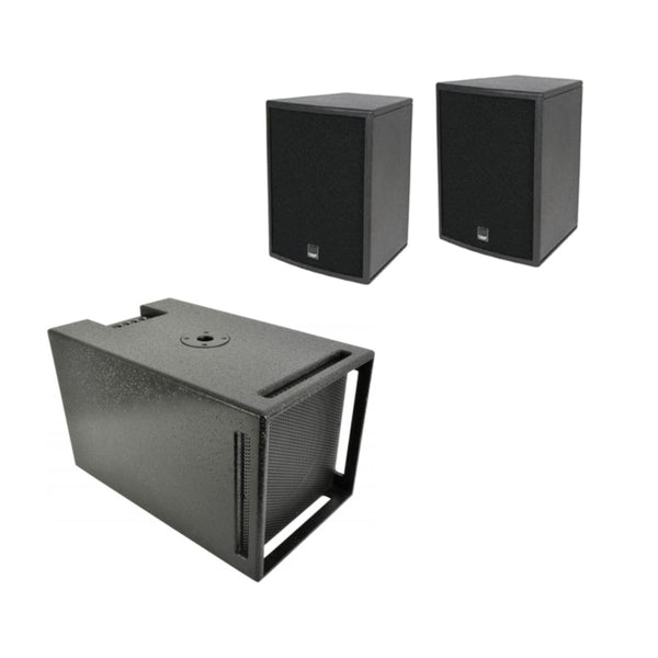 TV Audio Factory Shop - 2x CITRONIC CS-610 SPEAKER 6IN *OBSOLETE* 1x CITRONIC CXB-10A ACTIVE SUBS 10in 250W *OBSOLETE, DAMAGED PACKAGING, NEW*