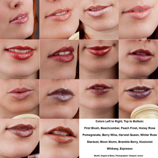 Four Mineral Lip Gloss Samples
