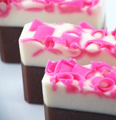 Pink Frosting Soap