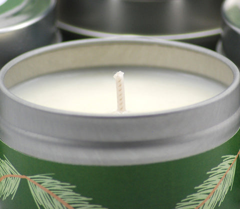 Sugared Spruce 4oz Soy Candle