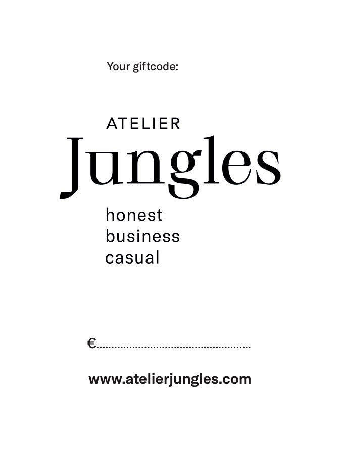 Guilt-free Giftcard-Giftcard-Atelier Jungles-€25.00-Atelier Jungles