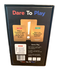 Dare To Play Collectors Edition