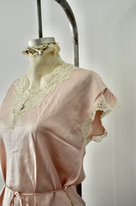 Pure Silk Trimmed Lace Cami Top Raglan Sleeves Sleepwear Street Style New Without Tags