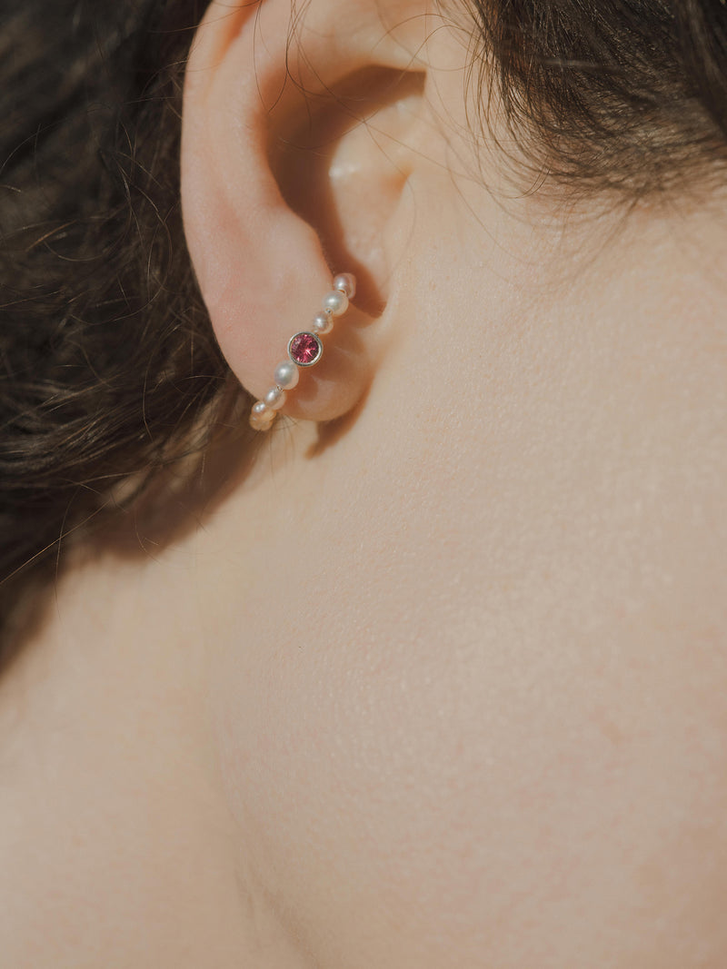 cupid's bow earring