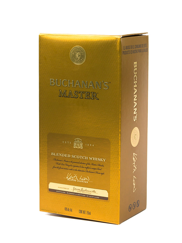 WHISKY BUCHANANS MASTER 750 ML