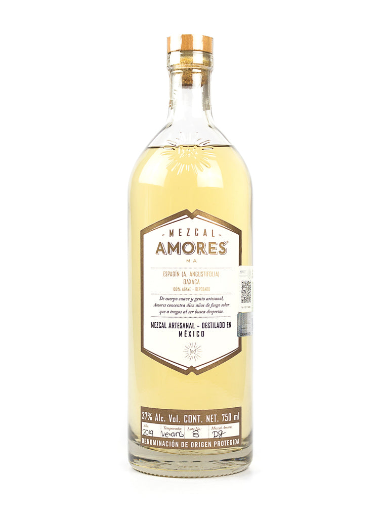 MEZCAL AMORES REPOSADO 750 ML