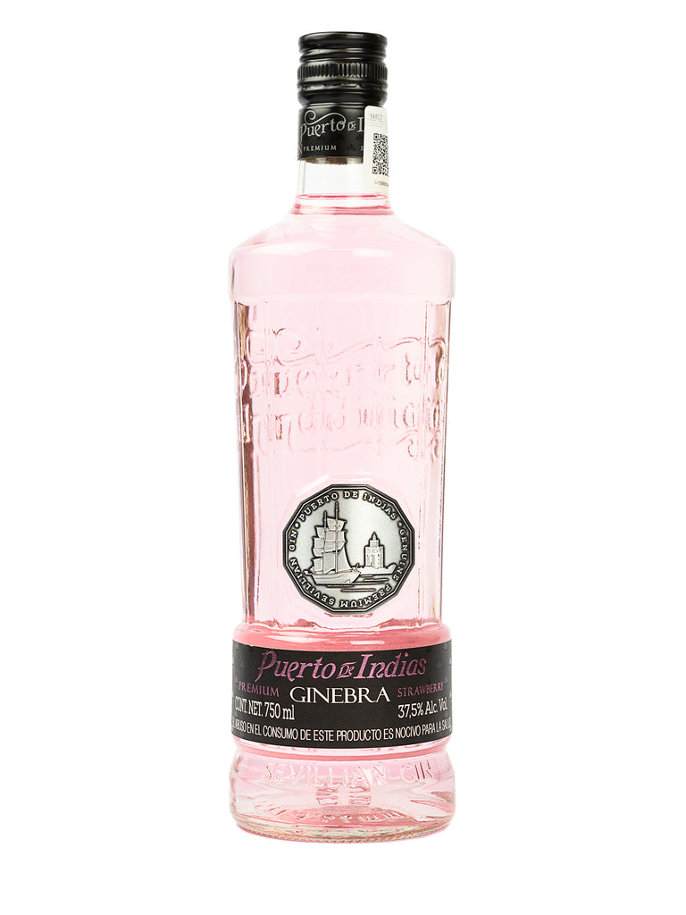 GINEBRA PUERTO DE INDIAS STRAWBERRY 750 ML