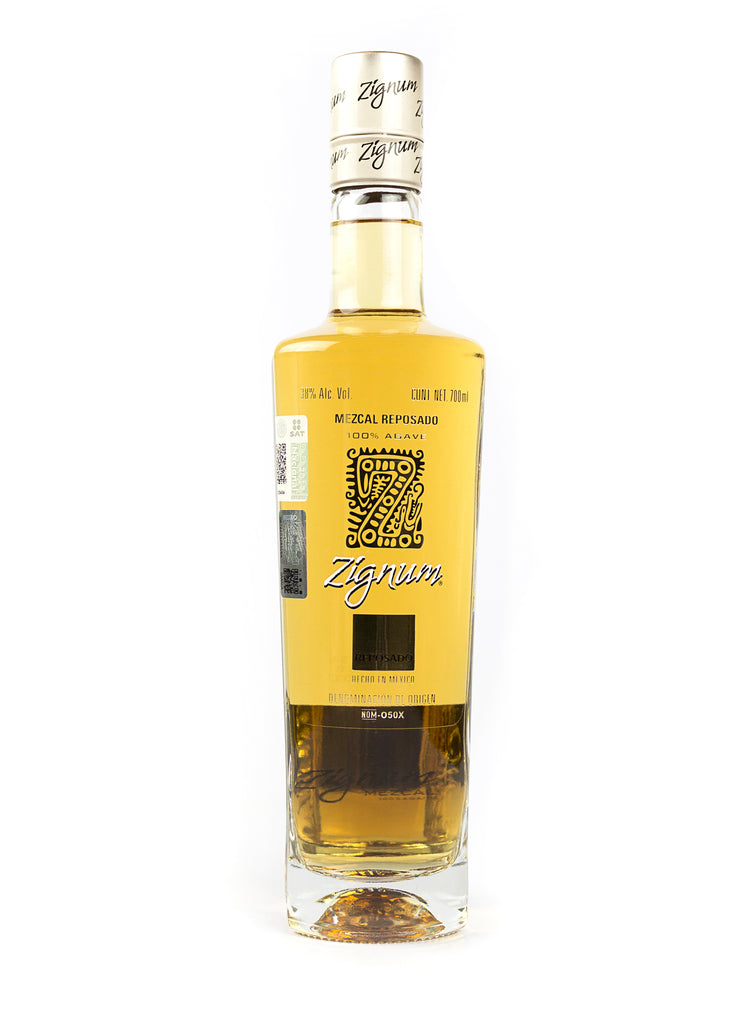 MEZCAL ZIGNUM REPOSADO 750 ML