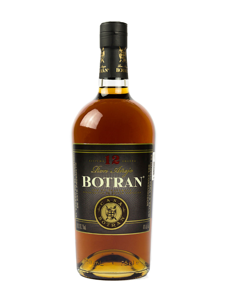 RON BOTRAN 12 ANOS 750 ML