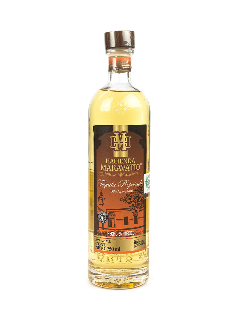 TEQUILA HACIENDA MARAVATIO REPOSADO 750 ML