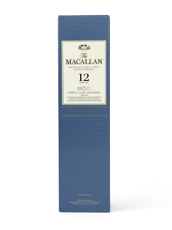 WHISKY MACALLAN 12 ANOS 750 ML