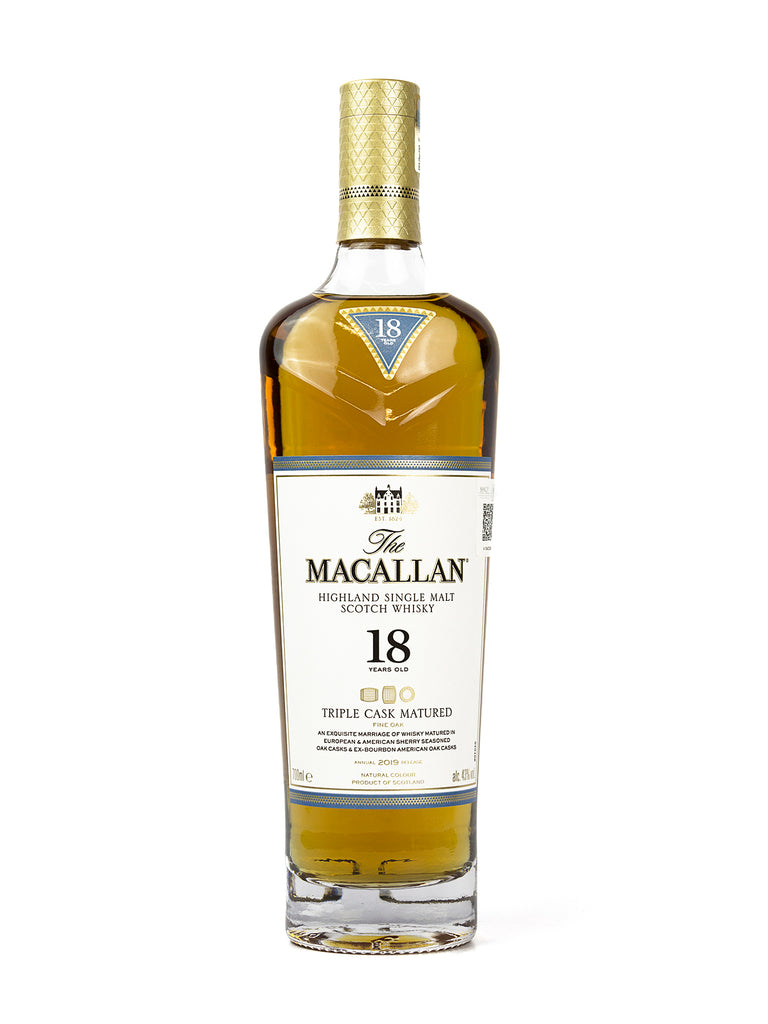 WHISKY MACALLAN 18 AÑOS 700 ML