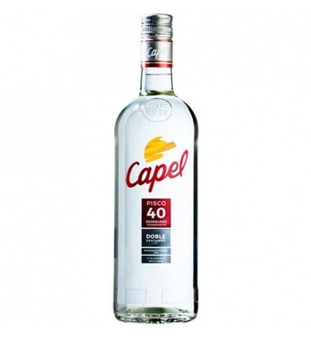 AGUARDIENTE PISCO CAPEL 750 ML