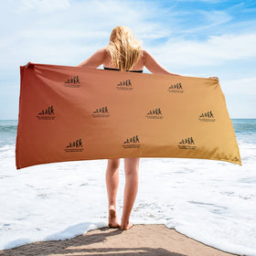 Give Yourself Time To Grow Great Things Take Time Sublimated Towel