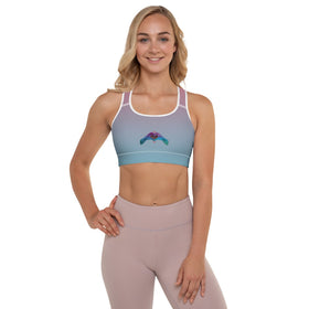 It's Okay To Reach Out For Help All-Over Print Padded Sports Bra