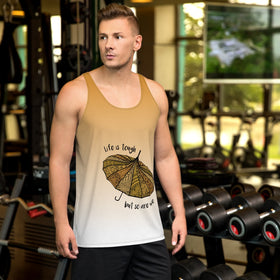 Life Is Tough But So Are We All-Over Print Men's Tank Top