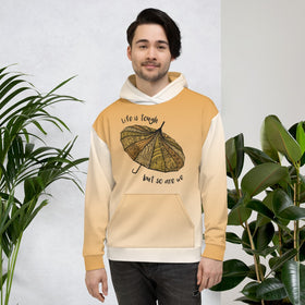 Life Is Tough But So Are We All-Over Print Unisex Hoodie