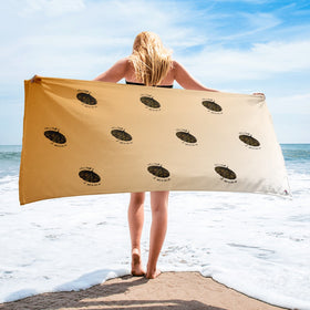 Life Is Tough But So Are We Sublimated Towel