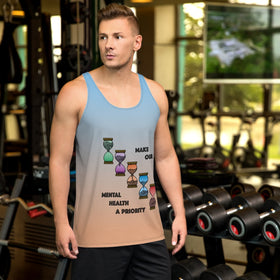 Make Our Mental Health A Priority All-Over Print Men's Tank Top