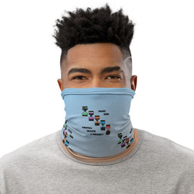 Make Our Mental Health A Priority All-Over Print Neck Gaiter