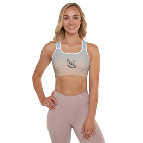 Make Our Mental Health A Priority All-Over Print Padded Sports Bra