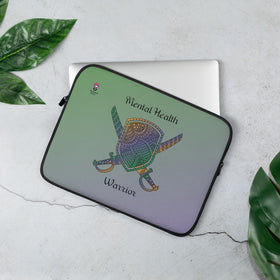 Mental Health Warrior Laptop Sleeve