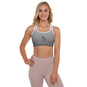 Our Miracle Is On Its Way All-Over Print Padded Sports Bra