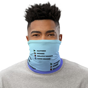 Play Pause Stop Replay All-Over Print Neck Gaiter