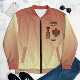 Prescribed For Us Love All-Over Print Unisex Bomber Jacket
