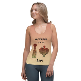 Prescribed For Us Love All-Over Print Women's Tank Top