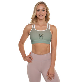 We Are Not Alone All-Over Print Sports Bra