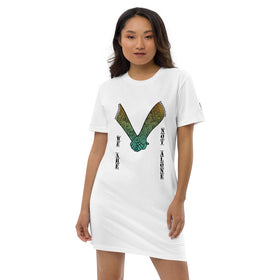 We Are Not Alone Organic Cotton T-Shirt Dress - Stanley/Stella STDW144
