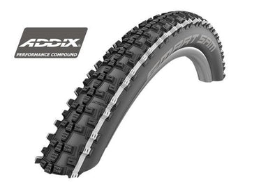 Schwalbe 27.5x2.60 (65-584) HS476 Smart Sam Perf. BB-SK Bicycle Tire