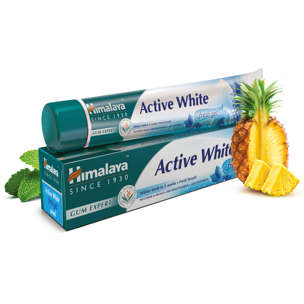 Himalaya Active White Fresh Gel 100ml - For a Fresh Feel