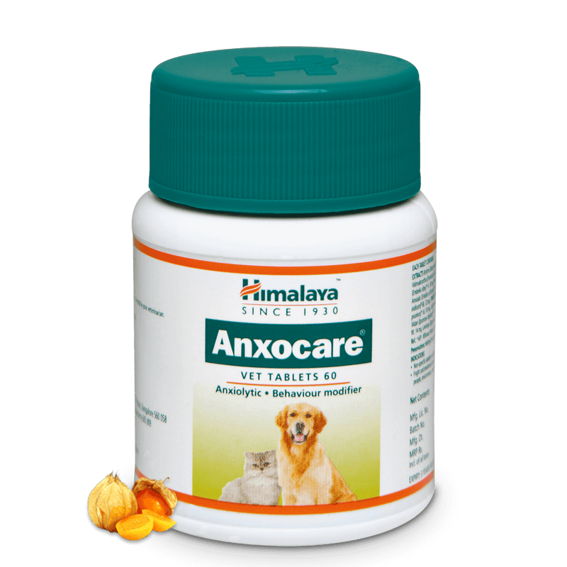 Himalaya Anxocare Vet Tablets - Behavior Modifier for Pets
