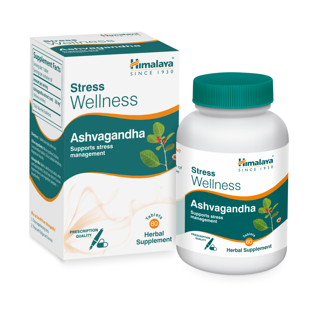 Himalaya Ashvagandha Tablets - Supports Stress Management